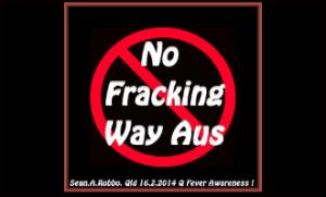 No fracking way Australia
