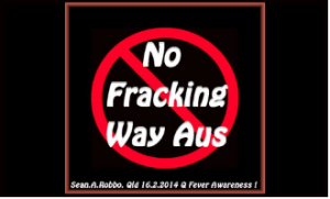 No fracking way Australia